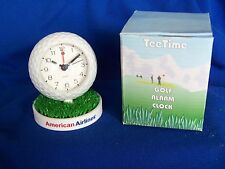 AMERICAN AIRLINES PROMOTIONAL TEE TIME GOLF ALARM CLOCK