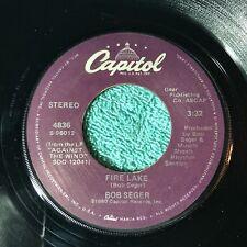 Bob Seger 45rpm Vintage Vinyl Record 1980
