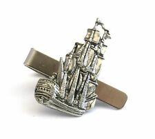 Galleon Ship Tie Slide Clip Boating Gift