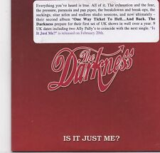 The Darkness-Is It Just Me promo cd single