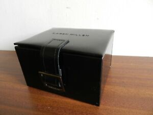Karen Millen Black Leather Box