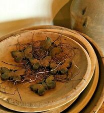 New Primitive//Country Scented Handmade Beeswax Butterfly Bowl filler Handmade