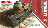 Meng TS-008 Model 1/35 French FT-17 Light Tank (Cast Turret) Armour