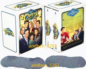 Cheers Complete Series Season 1-11 (45-DISC, DVD BOX SET, Region 1 ) US Seller