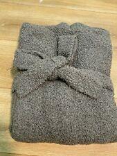 SKIMS Cozy Knit Robe Loungewear Smoke color