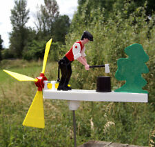 More details for mechanical wood chopper - whirligig - garden windmill - mecnov chopswell
