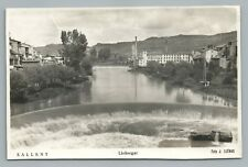 Sallent—Bages SPAIN Mill Dam—Catalonia RPPC Vintage Photo Foto—Tarjeta 1950s