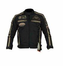 Blousons imperméables noirs pour motocyclette