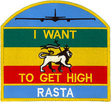 USAF 9th OPERATIONS GROUP U-2 FLIGHT SUIT NAME PATCH - RASTAFARIAN