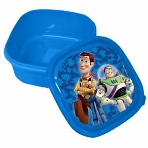 Toy Story Lunch Box School Snack Sandwich Blue/Size 13.5cm x 6cm