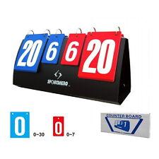 Sports Scoreboard Volleyball Basketball Table Tennis Score Set Portable #UI
