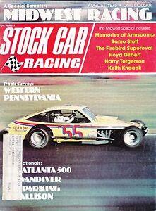 August 1975 Stock Car Racing Magazine