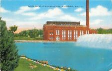 Marshfield Wisconsin~Power Plant at Wildwood Park~Supplies with Well Water 1940