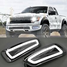 2x LED Daytime Running Fog Lights Lamp DRL For Ford F150 Raptor SVT 2009-2014