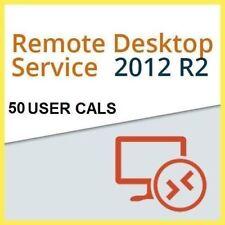 MSFT Windows Server 2012 R2 Remote Desktop Services 50 User CAL License [CHEAP]