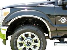 Carrichs | 2011-2016 Ford F-250 F-350 Super Duty Stainless Steel Fender Trim