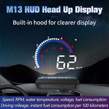 Car Hud Head Up Display Obd Ii Obd2 Auto Gauge 35 Screen Projector Speedometer