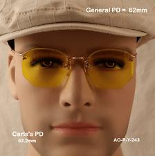 AO Rimway Ful-Vue 12k Gold Fill True Antique Eyeglasses & Case