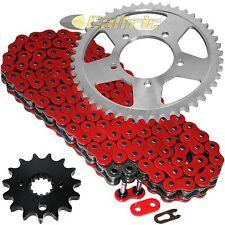 Red O-Ring Drive Chain & Sprockets Kit Fits SUZUKI GSX750F Katana 750 1989-1997