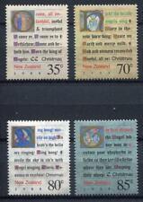 34618) New Zealand MNH Neu 1988 Christmas 4v