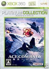 Used Xbox 360 Ace Combat 6 MICROSOFT JAPAN JP JAPANESE JAPONAIS IMPORT