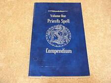 AD&D Priest's Spell Compendium Volume One