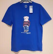 Polo Bear Ralph Lauren Rugby T-shirt Short Sleeve Tshirt SPECIAL EDIT L