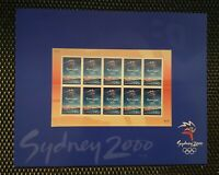 AUSTRALIA Stamps  Presentation Pack Sheet Sydney OLYMPICS 2000 Logo- MINT MNH