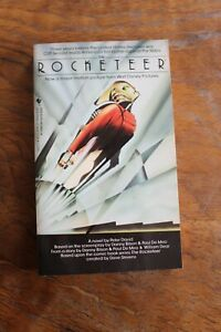 Signed by Dave Stevens: The Rocketeer Movie Novel by Peter David