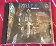 Telemann Orgelwerke (Organ) Baumgratz (Japan CD 1985)