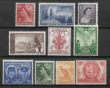 AUSTRALIA Collecton of 10 Different PRE DECIMAL STAMPS MNH (Lot 1)