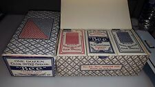 (1) ORIGINAL BOX 12 PACKS NOS SEALED VINTAGE BEE PLAYING CARDS  NO 92 67 BACK