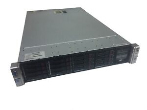 HP DL380p G8 16C 3.3GHz 2xE5-2667v2 256GB (16x 16GB)16 Bays+Rails Free Ship.
