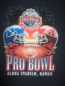2005 PRO BOWL NFL All-Star Game (LG) T-Shirt PEYTON MANNING MVP Tom Brady