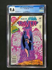 Tales of the New Teen Titans #2 CGC 9.6 (1982) - Newsstand - Origin of Raven