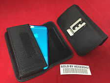 HORIZONTAL HEAVY DUTY NYLON CARRYING HOLSTER BELT CLIP POUCH FOR IPHONE 6 6S