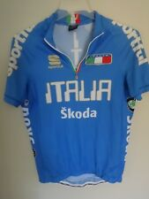 Sportful Euc Italia Skoda Italy Half Zip Cycling Bike Jersey Shirt Men S Jersey