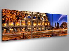 Quadri Moderni Cm 166x90 Quadro moderno Stampa su tela 5 Pezzi XXL Roma Totti