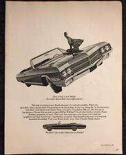 Original 1965 BUICK LeSabre 400 Ad ~ Vintage Car Advertisement
