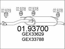 SILENCIEUX ARRIèRE POUR MG MG ZS HATCHBACK 2.0 TD,ROVER 400 3/5 PORTES 420 DI
