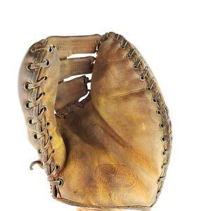 Vintage Lew Fonseca JC Higgins 1679 Model Catcher's Mitt Baseball Glove