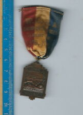 AN-114 W.S.C.A. Westchester County, 1940s Swimming Medal Bronze, NY, Bronze