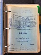 Hydraulics by H. P. Hammond  4 Vol. Set Venturi Meter Bernoulli Flow Dams