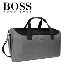 HUGO BOSS HOMME GRIS Sac Gym Holdall work week-end vacances Main Cabine homme nouveau sac