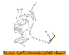 GM OEM Battery-Negative Cable 88987142