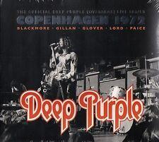 DEEP PURPLE - LIVE IN COPENHAGEN 1972 DOCD (OVERSEAS LIVE SERIES) NEU & OVP