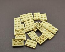 20x Lego ® Technic 32556 Pin Long 3 L Sable Beige Tan NEUF