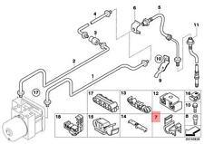 Genuine BMW E85 E86 Coupe Roadster Holder brake hose 1pcs OEM 34306774087