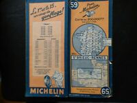 carte michelin 59 st brieuc rennes 1946 2