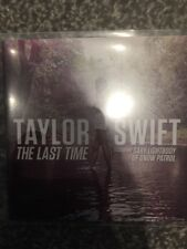 TAYLOR SWIFT 'THE LAST TIME' RARE ONE TRACK DUTCH VIRGIN RECORDS PROMO CD